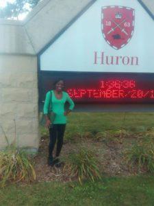 Erin Gabourel at Huron University