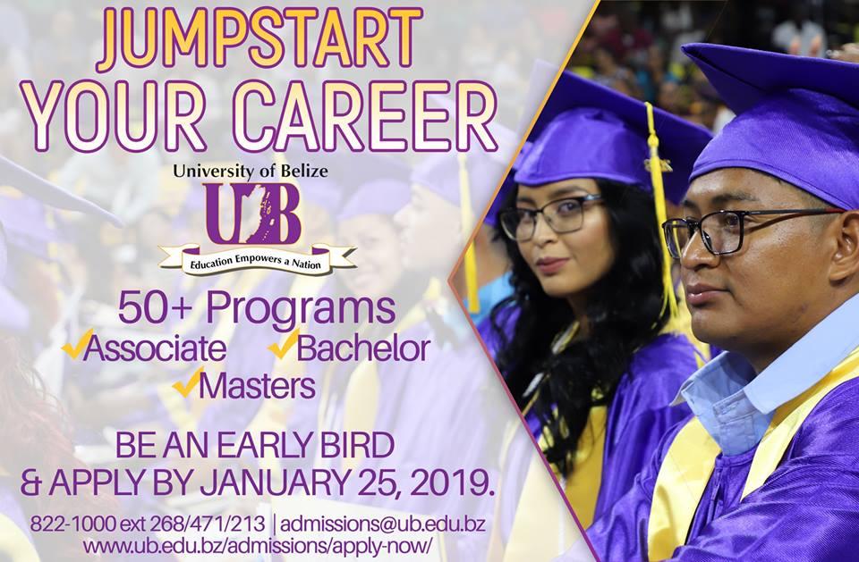 Ub Graduation 2020.Early Bird Admission Application Deadline For 2019 2020