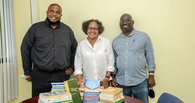 PR – UB Receives Donation of Books from Dr. Carla Barnett